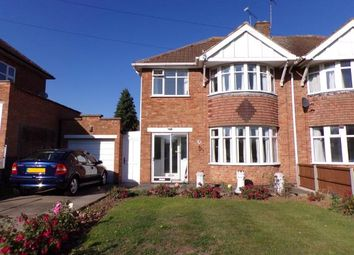 Thumbnail 3 bed semi-detached house for sale in Kingscliffe Crescent, Evington, Leicester, Leicestershire