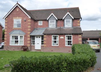Thumbnail 4 bed detached house to rent in Cavendish Close, Bicton Heath, Shrewsbury