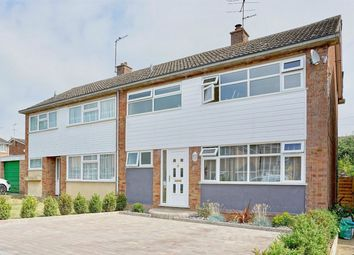 Thumbnail 3 bed semi-detached house for sale in College Drive, Riseley, Bedford