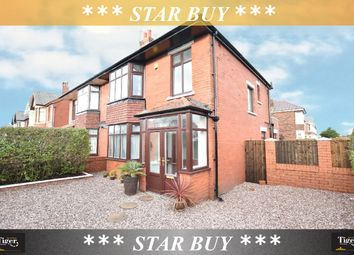 Thumbnail 3 bedroom semi-detached house for sale in Knowle Avenue, Blackpool, Lancashire