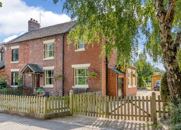 Thumbnail 3 bed cottage for sale in Chapel Cottages, Sound Heath, Nantwich, Cheshire East