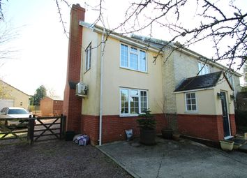 Thumbnail 4 bed semi-detached house for sale in Chapel Road, Old Newton, Stowmarket