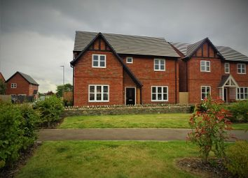 Thumbnail 4 bed detached house for sale in Marwins Walk, Anstey, Leicester