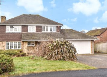 Thumbnail 4 bed detached house for sale in Exeter Gardens, Yateley, Hampshire