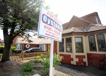 Thumbnail 2 bedroom semi-detached bungalow for sale in Paddock Drive, Stanley Park, Blackpool, Lancashire