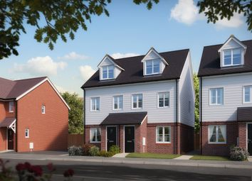 "Thumbnail 3 bed town house for sale in ""The Souter"" at Reigate Road, Hookwood, Horley"