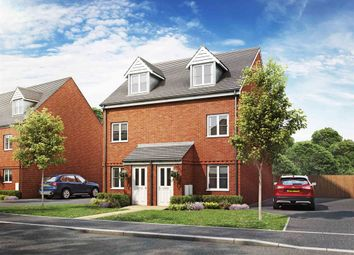 "Thumbnail 3 bed semi-detached house for sale in ""Souter"" at Haverhill Road, Little Wratting, Haverhill"