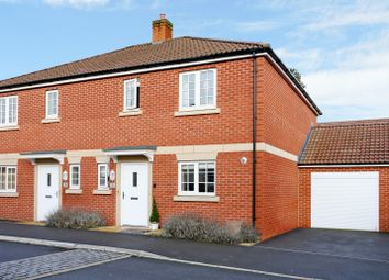 Thumbnail 3 bed semi-detached house for sale in Wordsworth Way, Devizes