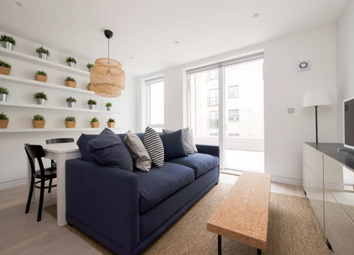Thumbnail 1 bed flat to rent in Curtain Place, London