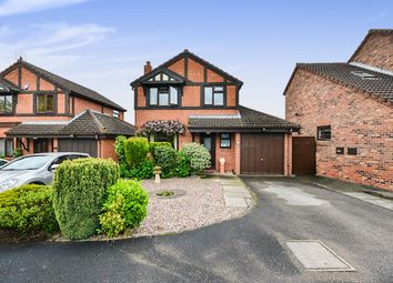 Thumbnail 3 bedroom detached house for sale in Sporton Close, South Normanton, Alfreton