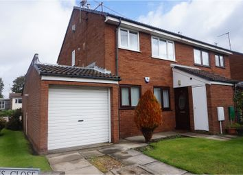 Thumbnail 1 bed flat for sale in Hermes Close, Bootle