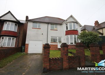 Thumbnail 5 bed detached house to rent in Bleakhouse Road, Oldbury