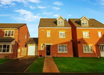 Thumbnail 4 bed detached house for sale in Akenshaw Drive, Seaton Delaval, Whitley Bay