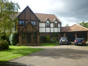 Thumbnail 5 bed detached house to rent in Carrington Close, Arkley