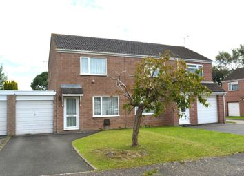 Thumbnail 2 bed semi-detached house for sale in Irvine Close, Taunton, Somerset