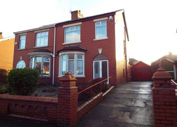 Thumbnail 3 bedroom semi-detached house for sale in Preston Old Road, Blackpool, Lancashire