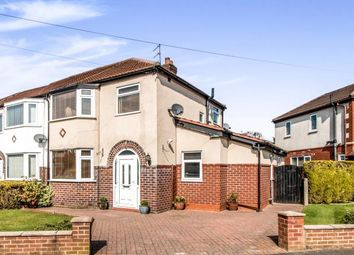 Thumbnail 3 bed semi-detached house for sale in Southvale Crescent, Timperley, Altrincham, Greater Manchester