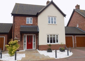 Thumbnail 3 bed detached house for sale in Neptune Close, Bradwell, Great Yarmouth