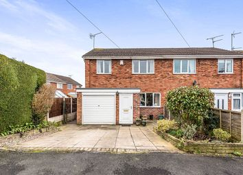 Thumbnail 3 bed semi-detached house for sale in Oak Road, Eccleshall, Stafford