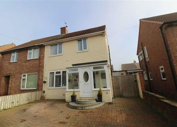 Thumbnail 3 bed semi-detached house for sale in Woolsington Road, North Shields