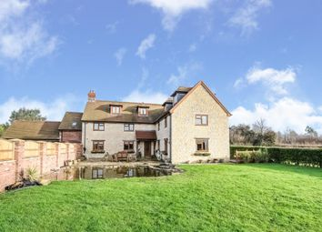 Thumbnail 7 bed detached house for sale in Gannetts, Todber, Sturminster Newton, Dorset