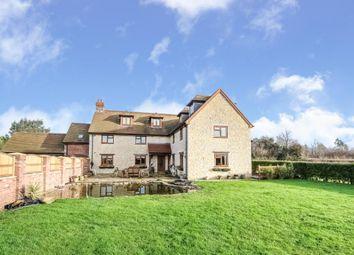 Thumbnail 7 bed detached house for sale in Gannetts, Todber, Sturminster Newton, Dorset
