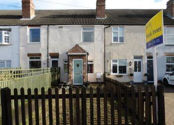 Thumbnail 2 bed terraced house for sale in Works Lane, Barnstone, Nottingham, Nottinghamshire