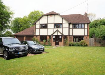 Thumbnail 4 bed detached house for sale in Paice Lane, Medstead