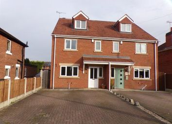 Thumbnail 4 bed semi-detached house for sale in Church Avenue, Hatton, Derbyshire