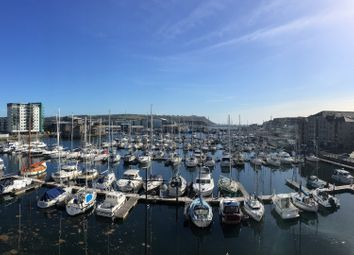 Thumbnail 2 bed flat for sale in Harbourside Court, Hawkers Avenue, Sutton Harbour, Plymouth, Devon