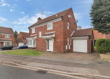 Thumbnail 4 bed detached house to rent in Cromer Way, Luton