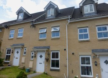 Thumbnail 3 bed town house for sale in St Davids Heights, Miskin, Pontyclun