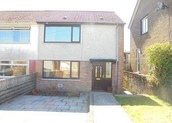 Thumbnail 2 bed semi-detached house for sale in Graiglwyd, Aberdare