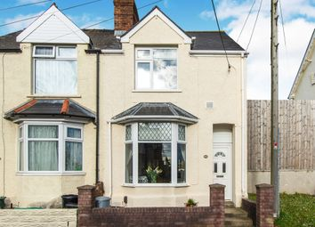 Thumbnail 3 bedroom end terrace house for sale in Dobbins Road, Barry