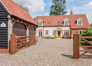 Thumbnail 4 bed detached house for sale in Pecks Lane, Edgefield, Melton Constable