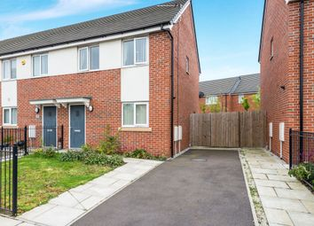 Thumbnail 3 bed town house for sale in Oregon Close, Bootle
