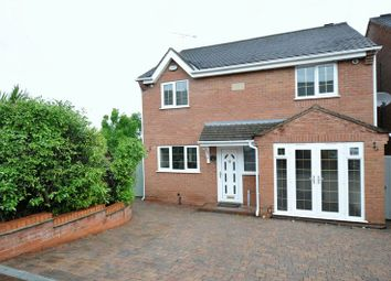 Thumbnail 4 bed detached house for sale in Wood Street, Church Gresley, Swadlincote