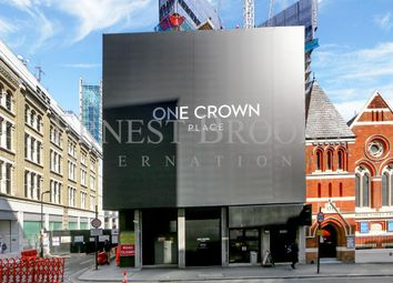 Thumbnail 2 bed flat for sale in One Crown Place, 54 Wilson Street, London