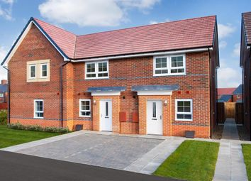 "Thumbnail 2 bed terraced house for sale in ""Washington"" at Bedewell Industrial Park, Hebburn"