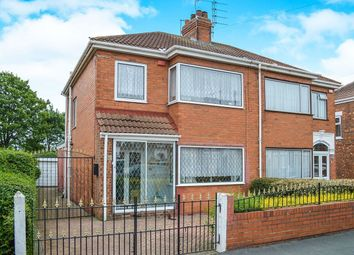 Thumbnail 3 bedroom semi-detached house for sale in Ellesmere Avenue, Hull