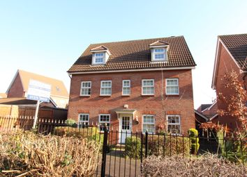 Thumbnail 5 bed detached house for sale in Frobisher Gardens, Chafford Hundred, Grays