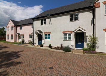 Thumbnail 2 bed terraced house for sale in Fen View Close, Diss