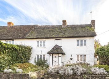 Thumbnail 3 bed semi-detached house for sale in High Street, Child Okeford, Blandford Forum, Dorset