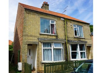 Thumbnail 3 bed semi-detached house for sale in St. Peters Road, Wisbech