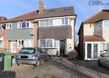 Thumbnail 4 bed semi-detached house for sale in Barn Lane, Solihull, West Midlands