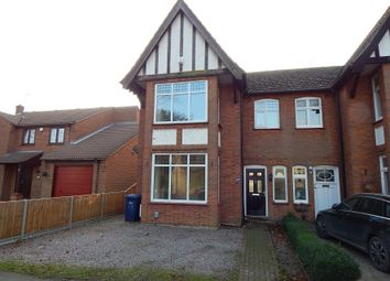 Thumbnail 4 bed semi-detached house for sale in 48 Clarkson Road, Wisbech, Cambridgeshire