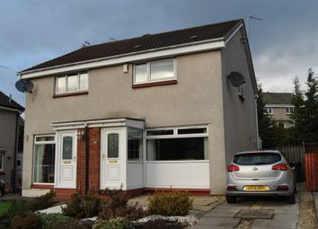 Thumbnail 2 bed semi-detached house for sale in Brogan Crescent, Motherwell