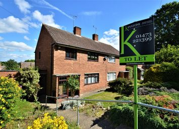 Thumbnail 3 bedroom semi-detached house to rent in Speedwell Road, Ipswich