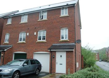 Thumbnail 4 bed town house to rent in Langbourne Close, Radcliffe, Manchester