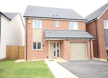 Thumbnail 4 bed detached house to rent in Derwent Close, Hilton, Derby
